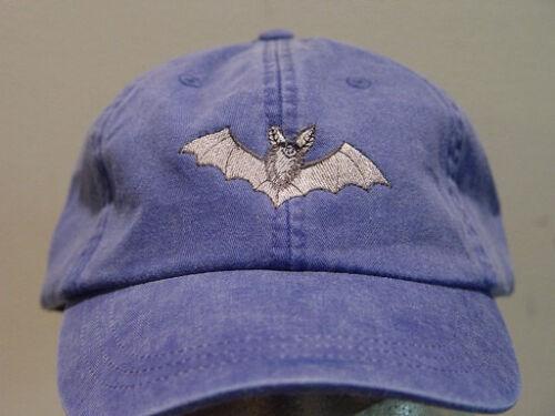 BAT HAT WOMEN MEN EMBROIDERED WILDLIFE BASEBALL CAP Price Embroidery Apparel