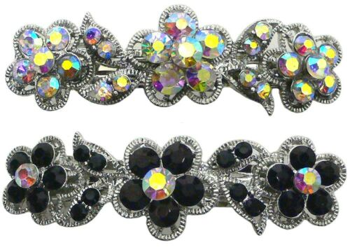Set of 2 Barrettes Hair Clips for the Price of 1 barrette $1 U86250-1338-2