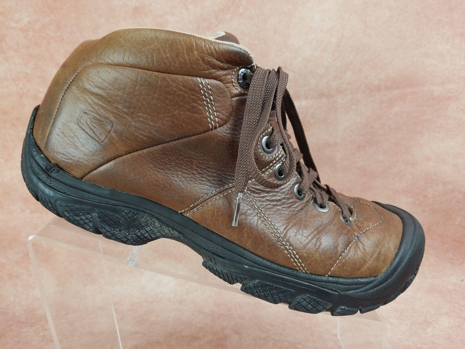Keen Presidio Brown High Top Men's Size 10.5 Brown Presidio Leather Hiking Boot a6199c