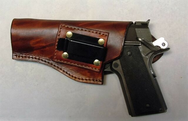 Left Hand IWB Concealment Holster for 1911 Pistol and Variants
