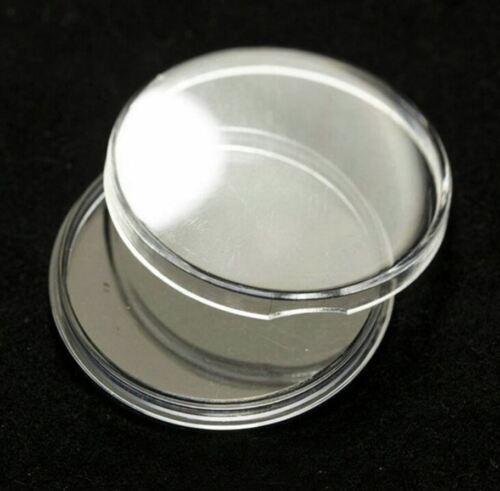 #33mm Direct Fit Coin Capsules S/'adapte à pièces de monnaie jusqu/'à 33 mm H33