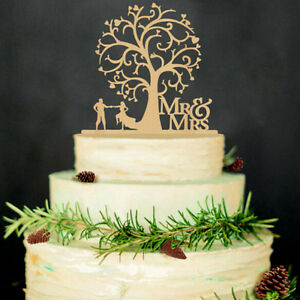 Mr mrs bride and groom wedding silhouette cakes topper cakes decor image is loading mr amp mrs bride and groom wedding silhouette junglespirit Images