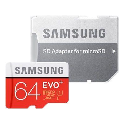 Samsung 64 GB Micro SD Card EVO Class 10