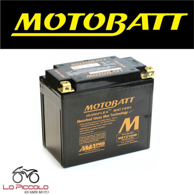 MOTO GUZZI V7 CLASSIC 750 2008 - 2012 BATTERIA MOTOBATT AGM POTENZIATA MBYZ16HD