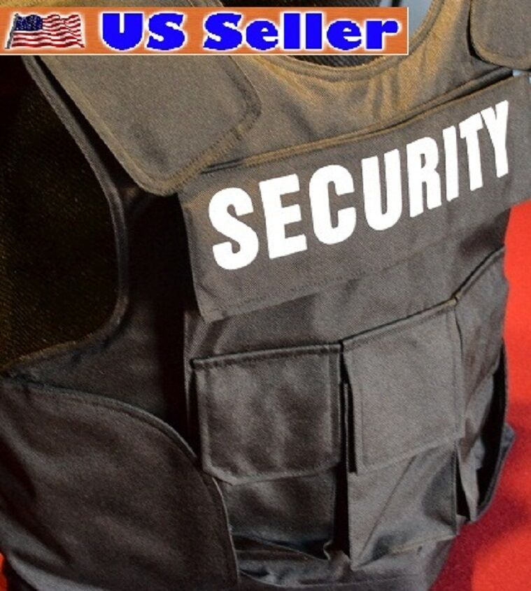 SECURITY   POLICE Body  Armor Bullet Proof   Stab Proof Vest 3A SIZE Medium NEW    factory direct