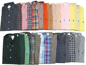 Mens Button Down Polo Shirts