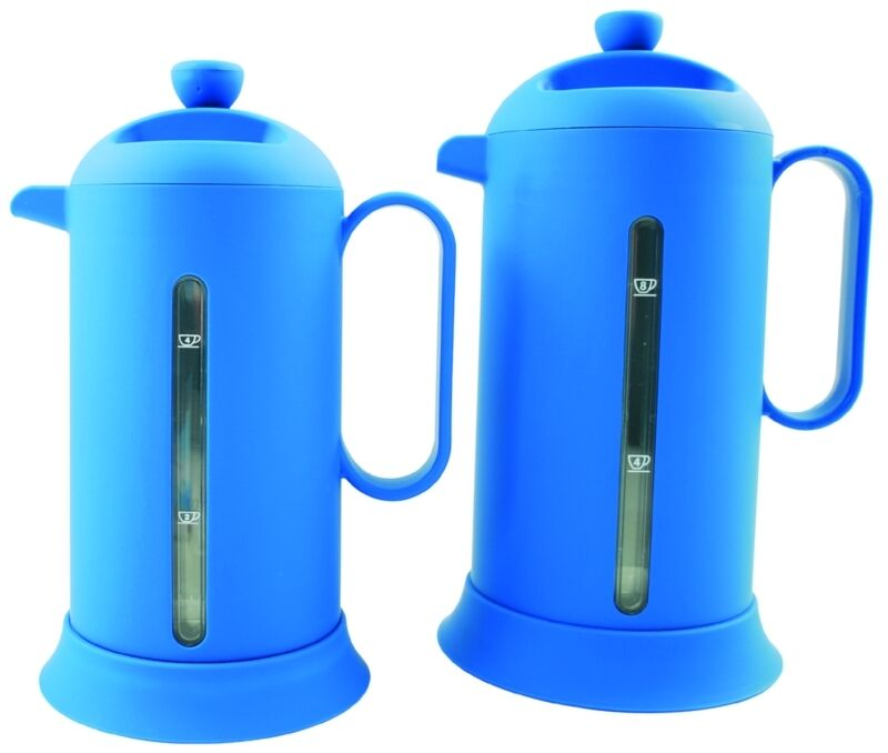 8 THERMOS TEAPOT MAKER COFFEE CUPS FOR 001433 EUROMARINE