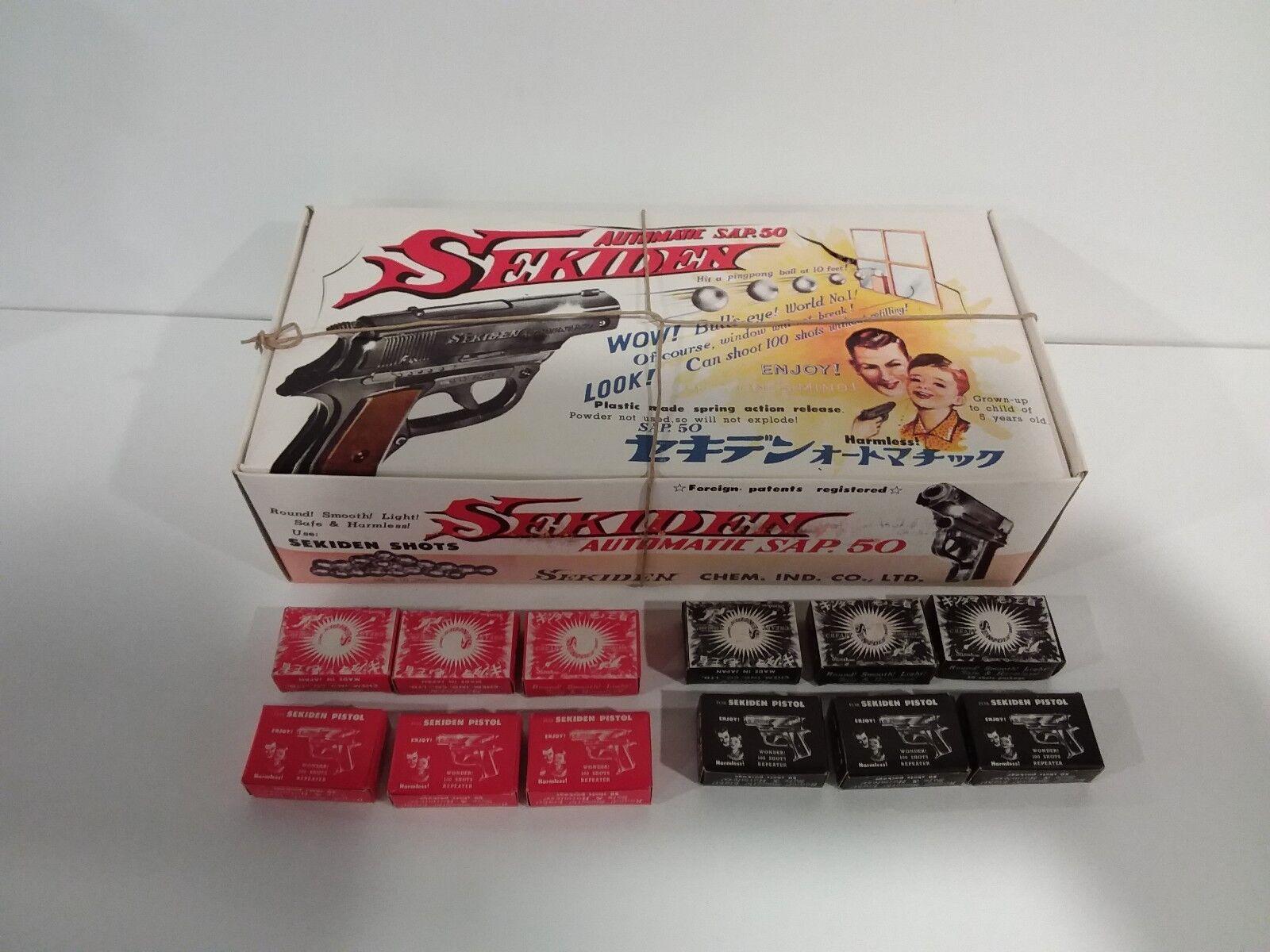 auténtico Sekiden Auto SAP.50 Counter Box Sealed BONUS 12 SEALED BOXES BOXES BOXES SHOTS  orden en línea