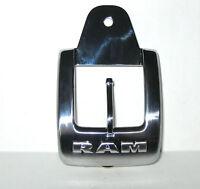 2014 + Up Dodge Ram Limited Rear Seat Pouch Buckle Closure Emblem Patch