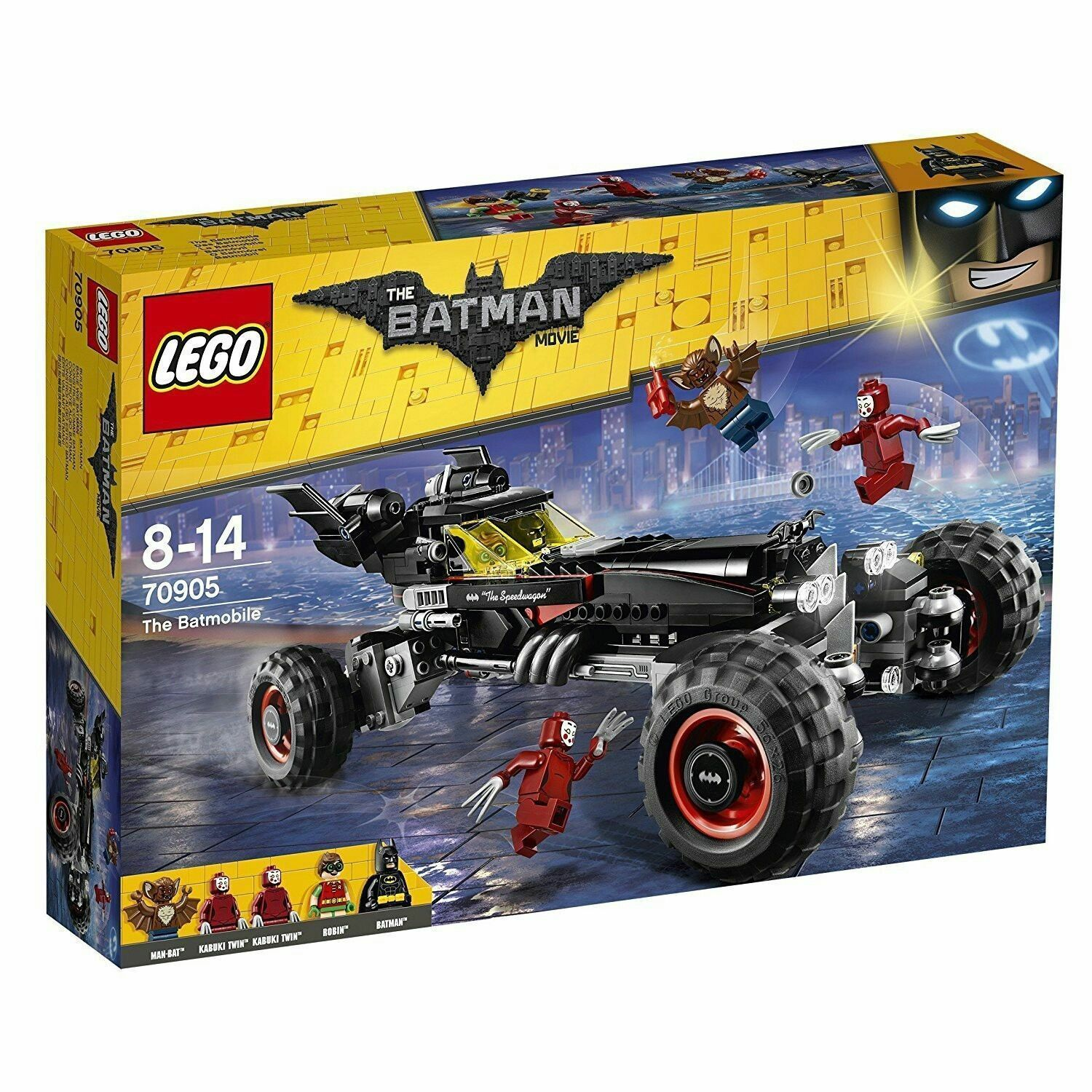 LEGO BATMAN MOVIE - 70905 - BATMOBILE - BRAND NEW & FACTORY SEALED 3