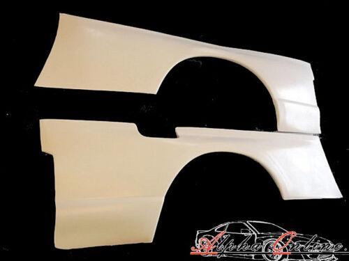 25mm estilo GTR Trasero sobre defensas Par para Nissan Skyline R33GTS GTST