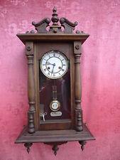 belle, antique Horloge Pendule___Regulator__Junghans___