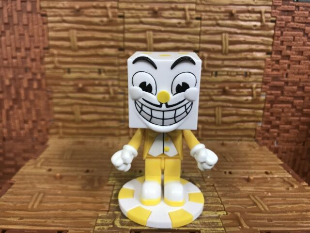 Cuphead Buildable Mcfarlane Lot of 2 Rare Characters Yellow Two Tone
