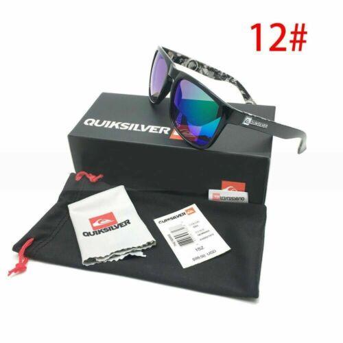 QuikSilver Sunglasses 100/%UV400 Outdoor Sport Beach Surfing QuikSilver Glasses