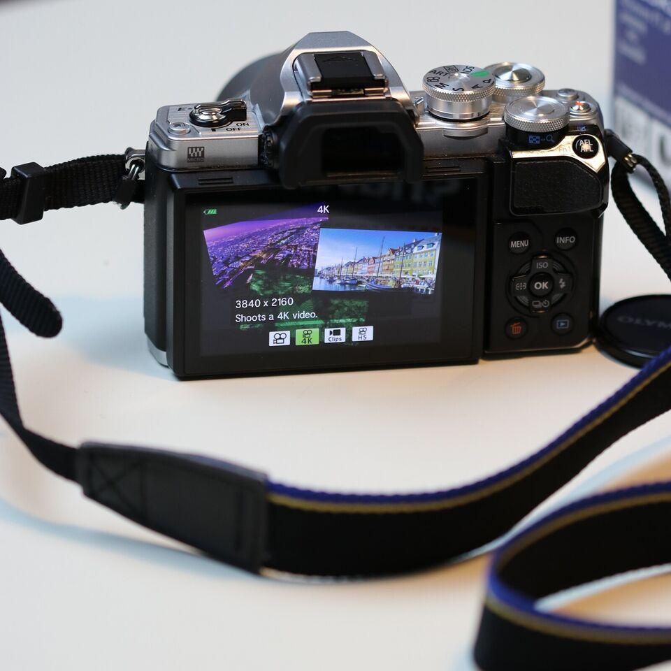 Olympus OM-D E-M10 Mark III, 16,1 megapixels, Perfekt