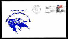 1984 CHALLENGER STS 41C - POST ORBITAL FERRY FLIGHT - EDWARDS, CA (ESP#2910)