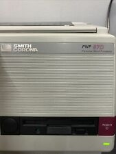 Smith Corona Pwp 87d Personal Word Processor Works
