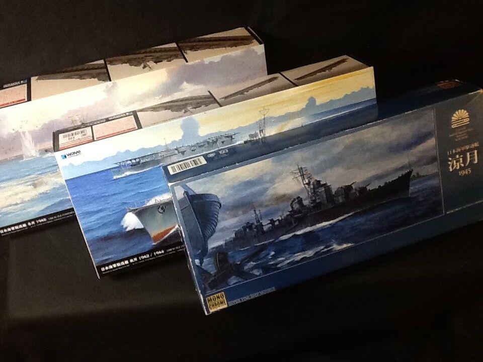 IJN Destroyer SUZUTUKI , FUYUZUKI , AKIZUKI  1 350 Scale