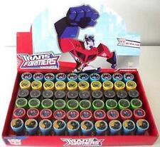 12 pcs Transformers Birthday Self Inking Stamper Pencil Topper School Supply Lot