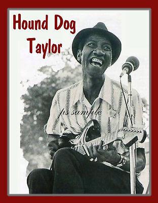 Flexible Fridge Magnet jazz blues CHARLEY PATTON