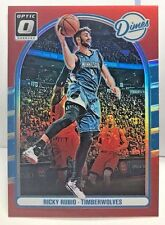 Ricky Rubio 2016-17 Donruss OPTIC Dimes Holo Prizm RED Refractor #'d 55/99