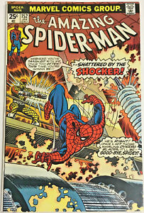 AMAZING-SPIDER-MAN-152-VF-1976-MARVEL-BRONZE-AGE-COMICS