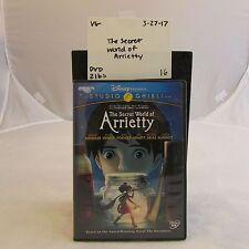 Disney Presents A Studio Ghibli FIlm-The Secret World of Arrietty DVD 32717