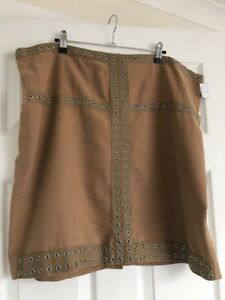 Waist Nuovo Violeta 46 Uk Camel 42 Eu Mango Ladies Designer Skirt 20 By Inches R6XxqWOf