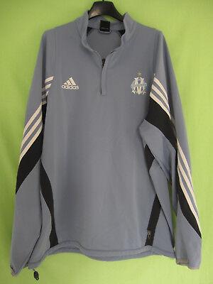 Veste Adidas Noire ciel 90'S Couleur OM Olympique Marseille