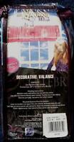 Disney Hannah Montana Standard Size Decorative Valance - Brand In Package