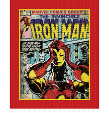 """FABRIC PANEL Camelot Cottons ~ INVINCIBLE IRON MAN ~ by Marvel Comics 36"""" x 44"""""""