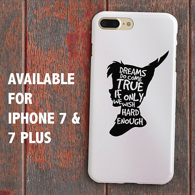DISNEY PETER PAN SILHOUETTE for iPhone 7 & 7 Plus Case Cover