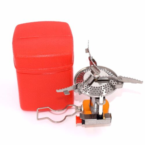 Folding Portable GasBurner Fishing Outdoor Stove Cooking Camping Picnic  Kitchen