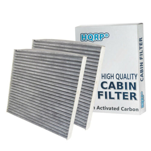 19130294 2-Pack HQRP Charcoal Cabin Air Filter for 3SF79-AQ000 F784EB9AA
