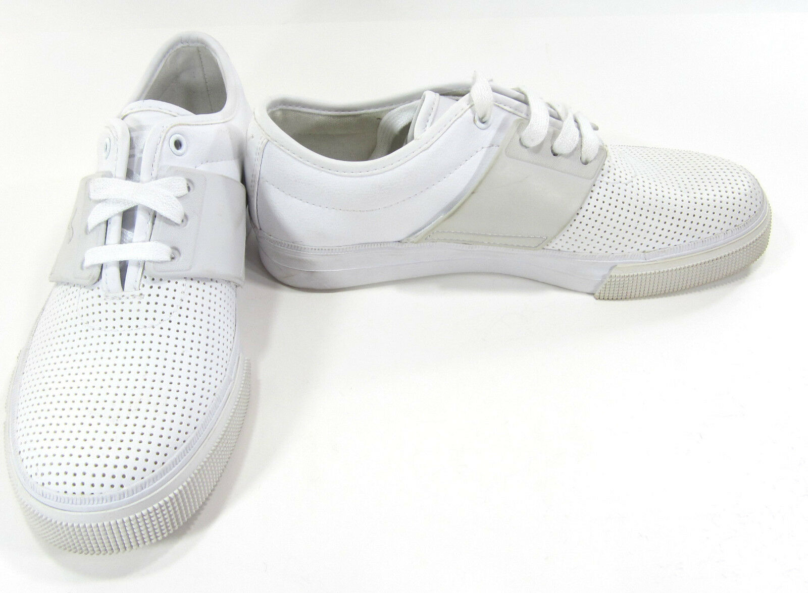Puma Shoes El Ace Leather Perforated White Sneakers Comfortable Cheap women's shoes women's shoes