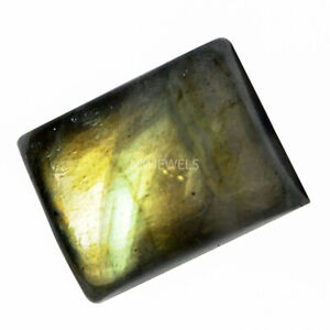 Cts-15-25-Natural-Multi-Fire-Labradorite-Cabochon-Cushion-Cab-Loose-Gemstones