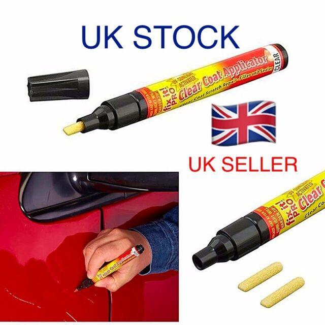 e97495028 Pro Car Scratch Remover Touch up Pen Clear Coat Lacquer Repair Body Shop  Paint