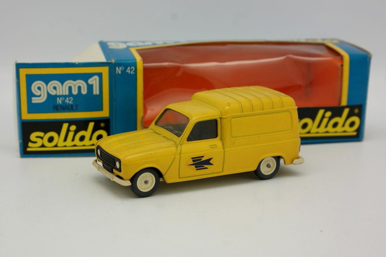 Solido 1 43 - Renault 4 4L F4 PTT Poste N°42