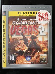 Tom Clancy's Rainbow Six Vegas 2 Playstation PS3 Nuevo Y Sellado-PAL