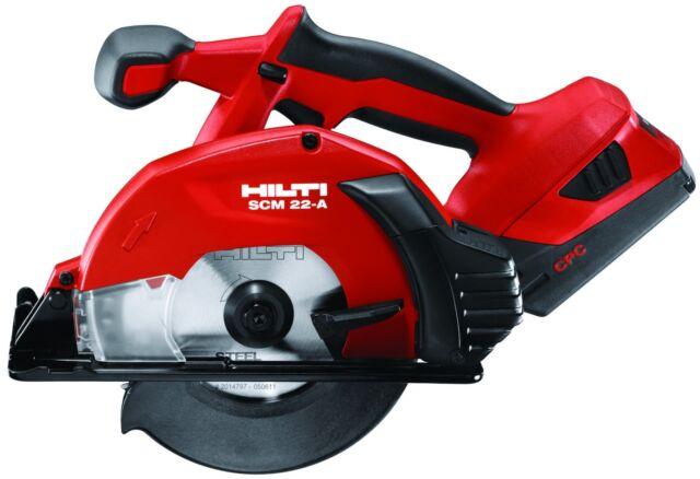 hilti cordless 22v hand held circular saw scm 22 a tool. Black Bedroom Furniture Sets. Home Design Ideas