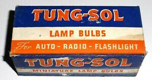 TL122-Boite-de-10-ampoules-2-5-volts-PR6-US-NOS-NIB-1943-RARE-Xx