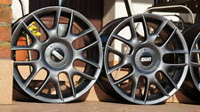 """BBS alloys made in Germany 5x112, 8Jx17"""" et50 in titanium pearl paint!"""