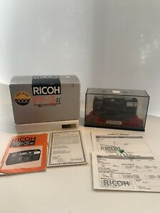 RICOH FF-3 AF compact film Camera AF WIDE F/3.2 35mm Lens NEW display case works