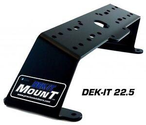 PROcise Outdoors Dek-it 0.0 Dual Deck Mount Boat Fish Finder GPS Electronics