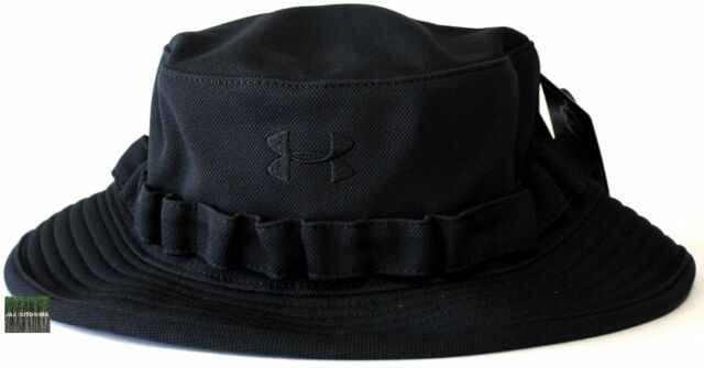 5f3119072d3 Under Armour UA Outdoor TAC HeatGear® Black Tactical Boonie Bucket Sun Hat