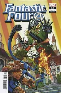 Fantastic Four #33 1:25 Carlos Pacheco Variant Marvel 2018 Doctor Doom Wedding