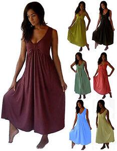 283afbb5dd Maxi Boho Dress -Gown Ladies Fashion Plus Sizes -Made To Order U483 ...