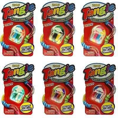 Togglerz Metallic Puzzle Tube Fiddle Fidget ADHD Autism Sensory Toy 6 Colours