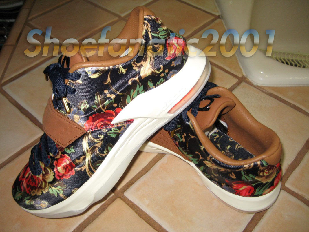 Nike Kevin Durant KD QS VII 7 ext floral QS KD fragmento tía Pearl GSW guerreros 0aac09