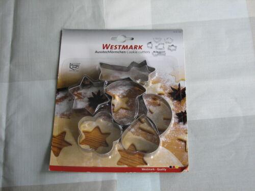 1 von 1 - Westmark 6  Förmchen Ausstechförmchen Ausstecher OVP angestaubt